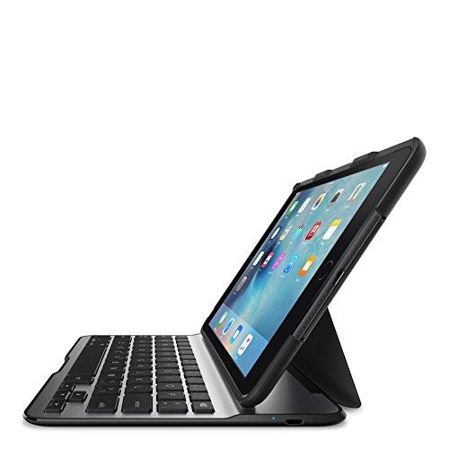 Belkin QODE Schutzhülle mit Tastatur, leicht, schwarz schwarz, grau