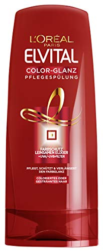 L'Oréal Paris Elvital Pflegespülung Color-Glanz, 6er Pack (6 x 250 ml)
