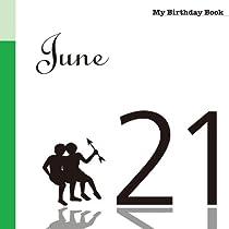 6月21日 My Birthday Book