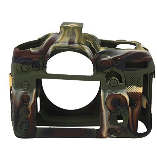 Carcasa Protectora de la cámara, Carcasa Protectora de la cámara Resistente al Desgaste Toque Suave y cómodo con dureza elástica para fotógrafos para la cámara Nikon D7000(Camouflage)