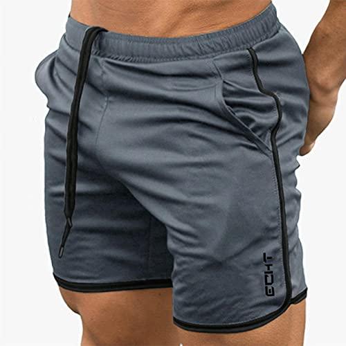 ShZyywrl Pantalones Cortos De Hombre Pantalones Cortos De Culturismo para Hombre, Entrenamiento De Verano para Hombre, Malla Transpirable, Ropa Deportiva De Se
