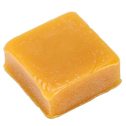50g de cera amarilla filtrada con cera de abejas orgánica rectangular para hacer velas, bálsamos labiales y lociones