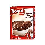 Mousse sabor Chocolate - Royal - 6 Raciones - 2x79g - 158g en total