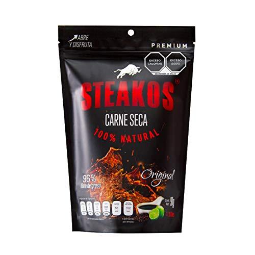 Carne marca Steakos