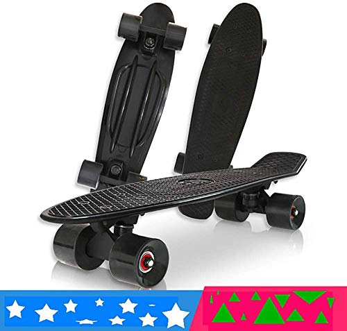 LBWNB Skate Cruiser Boards, 22' Forts Skateboards Complet Roues 60 mm PU avec Roulements ABEC 7...