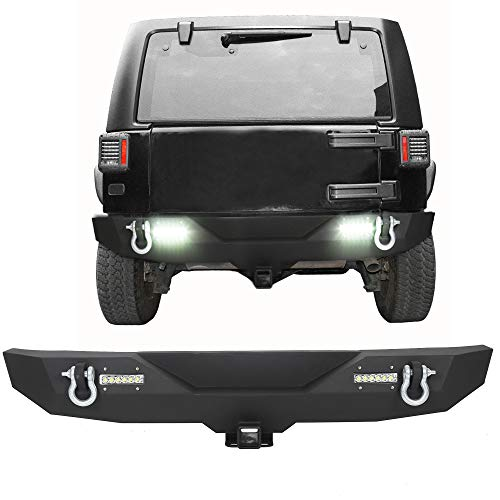Rear Bumper Textured Black w/2' Hitch...