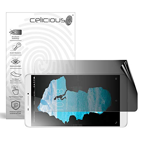 Celicious Privacy 2-Way Landscape Anti-Spy Filter Screen Protector Film Compatible with Lenovo PHAB