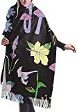 Irener Sciarpa coperta avvolgente scialle, Scarf Garden Witch Womens Large Soft Cashmere Feel Shawls Wraps Light Stole