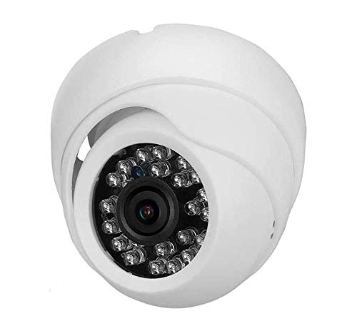 Security Camera, 420TVL Outdoor/Indoor Dome Camera with Infrared Night Vision, IP66 Waterproof Camera for Home Security (NTSC)