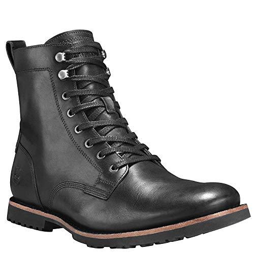 Timberland Kendrick Side Zip Boot Black Full Grain 10.5