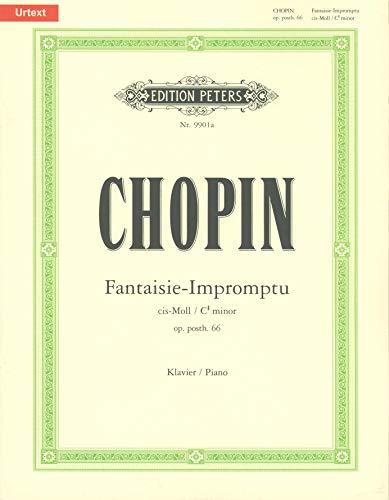 Fantaisie Impromptu Cis-Moll Op Posth 66. Klavier
