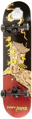 Tony Hawk Skateboard 405 Series Treehouse, schwarz/rot, SKTK12156038