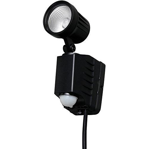 アイリスオーヤマ センサーライト LED AC式 防犯 LSL-ACSN-400D