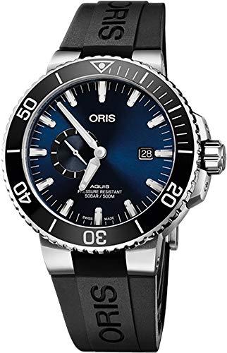 Oris Aquis Small Second, date orologio da uomo 74377334135RS