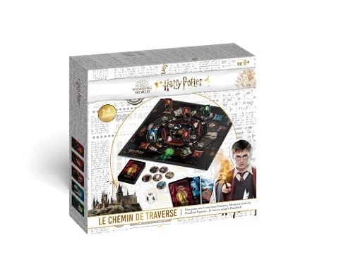 Shuffle - Harry Potter & Le Chemin de Traverse - Nouveau Jeu de Société Enfant, Famille - A partir de 8 Ans - Exclusivité Amazon