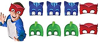 PJ Masks Paper Masks (16 Count) Party Supply for 16 Kids. Kids Love PJ Mask