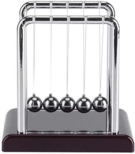 RENFEIYUAN Newtons Cradle 5 Bälle Physische Kugeln Spielzeug Edelstahl Balance Magnet Ball Home Office Schreibtisch Spaß Dekoration Geburtstag Kugeln pendel