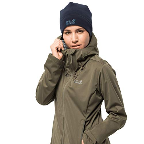 Jack Wolfskin Real Stuff Unisex Mütze, Blau (Night Blue), One Size, 19590