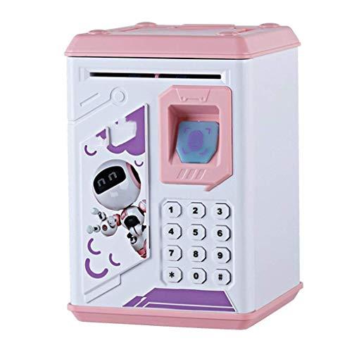 XHAEJ Banche dei Soldi Banca del porcellino salvadanaio Bambino Bambini Box Password Password Batt ATM Grande Battery Versione Piggy Bank Conteggio dei Soldi Jar Big Piggy Bank