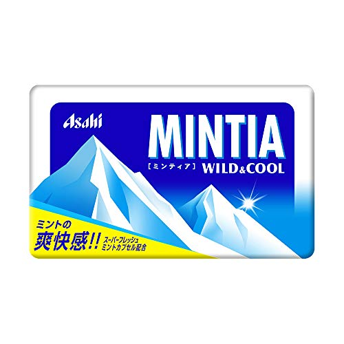 アサヒグループ食品 ミンティア ワイルド&クール 50粒×10個