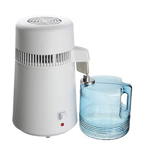 Pure Water Distiller, agua destilada máquina rápida evaporación para eliminar eficazmente impurezas del agua, 304 acero inoxidable es adecuado para la casa