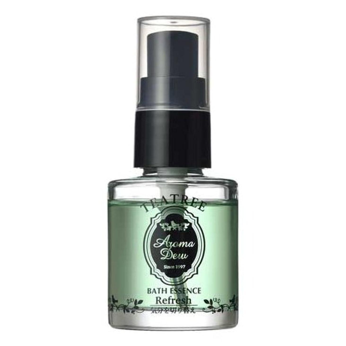 だらしない温度計征服するアロマデュウ 香りのバスエッセンス ティーツリーの香り 27ml