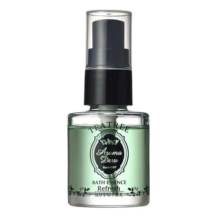 ナチュラル詐欺よりアロマデュウ 香りのバスエッセンス ティーツリーの香り 27ml
