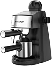Espresso Machine 3.5 Bar 4 Cup Espresso Maker Cappuccino Machine with Steam Milk Frother and Stainless Mug