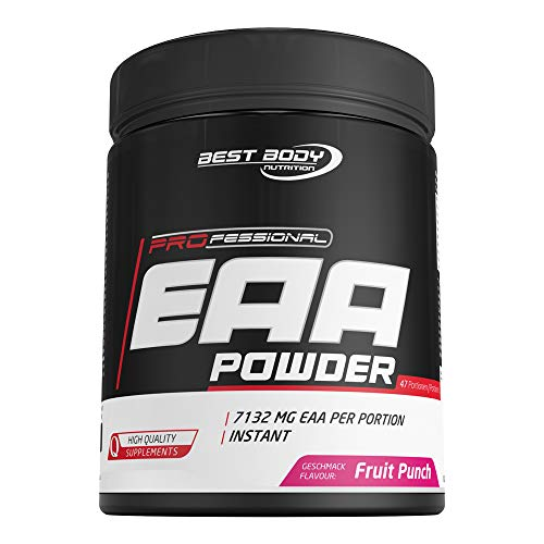 Best Body Nutrition Professional EAA Powder Fruit Punch, 450 g