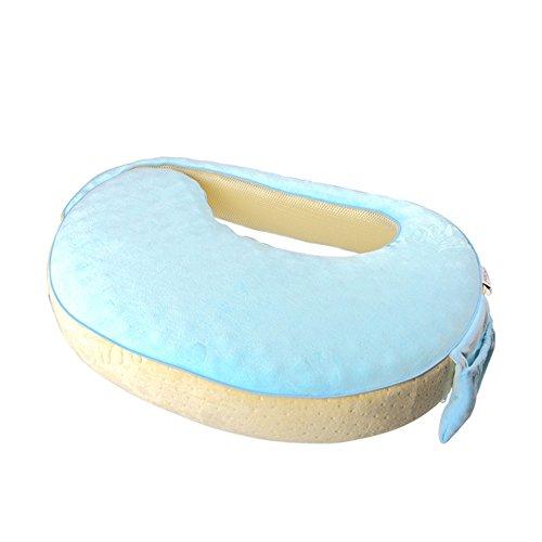 LJHA Alimentation oreillers bébé Apprendre à s'asseoir Oreiller laitier Femmes Enceintes pour protéger l'oreiller de Taille Oreillers d'allaitement