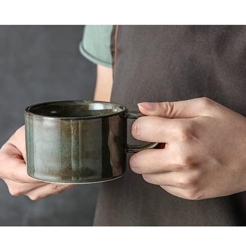 PAYNAN Taza de cerámica retro taza creativa taza de café taza taza de kungfu taza de leche taza taza