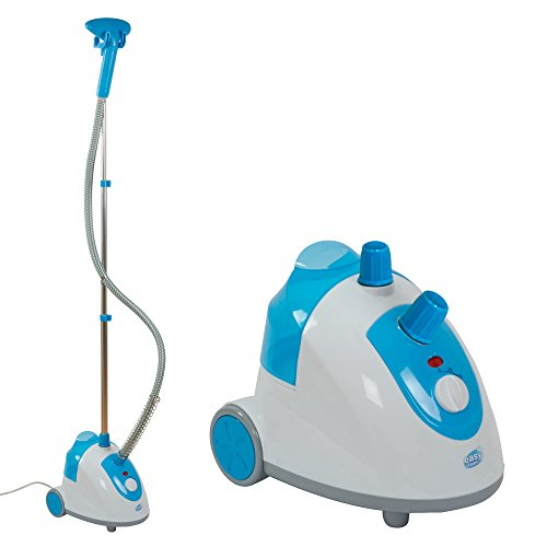 Easy Steam Vertical Garment Steamer Upright Iron with Clothes Brush & Holding Base, 1800W