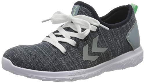 hummel Unisex-Kinder ACTUS EASYFIT JR Sneaker, Blau (Blue Nights 7429), 35 EU