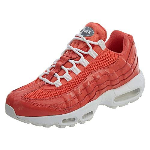 Nike Damen WMNS AIR MAX 95 Premium Traillaufschuhe, Rot (Rush Coral/Rush Coral/Summit Bianco 802), 38 EU