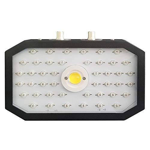 1000W LED usine lampe pleine croissance du spectre réglage rotatif Commutateur usine lampe croissance, Adapté aux légumes intérieur, les fleurs et la plantation à effet serre(puissance réelle 110Watt)