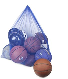 Crown Sporting Goods Blue Coaches' Equipment Bag in Heavy Duty Mesh