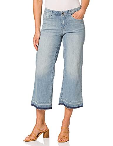 Taifun Womens StraightTS Jeans, Light Blue Denim,...