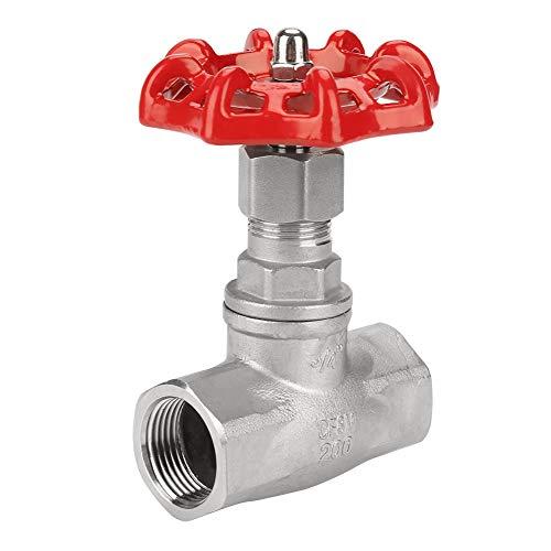 Edelstahlventil, DN20 Edelstahl-Absperrschieber BSPP G3 / 4 Edelstahl-Drehschieber für Wasser, Öl, Gas, Wasser-Absperrschieber