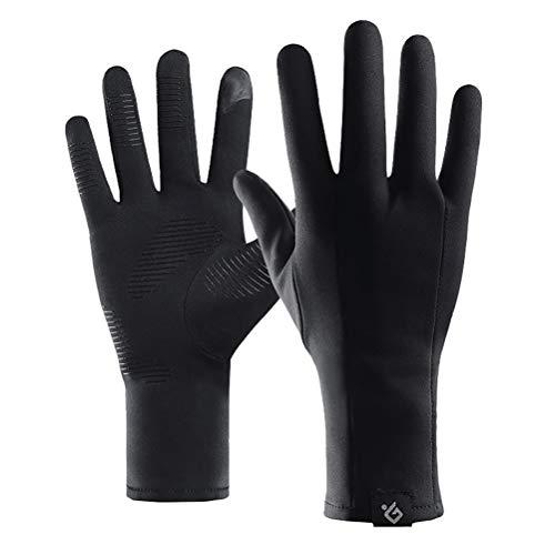 Abaodam 1 Paar Winter- und Outdoor-Sporthandschuhe mit rutschfester Telefinger-Handschuhe