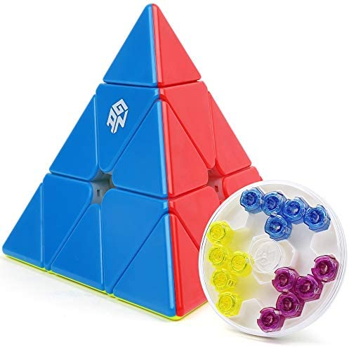 GAN Pyraminx M 60 Magnets Magic Cube Speed Magnetic Pyramid Puzzle Stickerless Triangle Cube product image