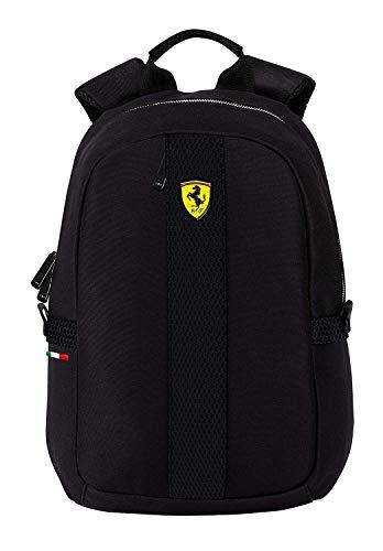 Ferrari Rucksack OFFIZIELLER STALL SCHWARZ