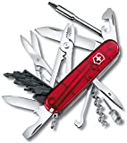 Victorinox 1.7725.T Couteau Cyber Tool Rouge Translucide
