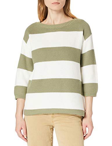 ESPRIT Damen 021EE1I318 Pullover, 347/LIGHT Khaki 3, XL