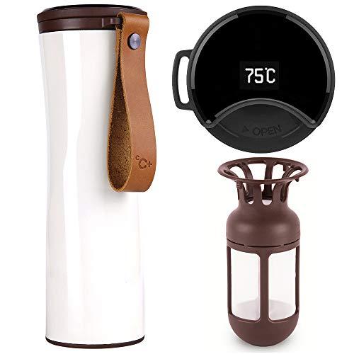 Travel Mug, Vacuum Flask, Smart Coffee Tumbler,...
