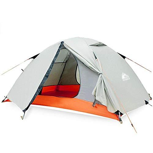 Générique Arongbc Tente de Camping étanche pour 2 Personnes Double Couche 4 Saisons, Vert Clair