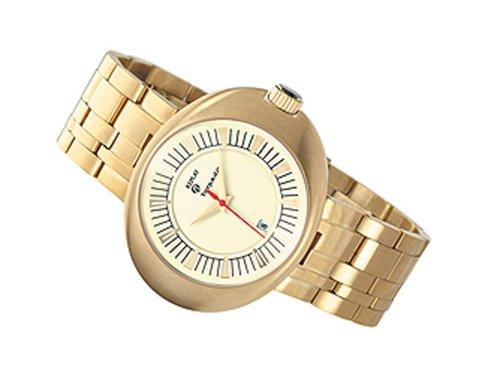 Replay RM3201FH - Reloj de Caballero de Cuarzo, Correa de Acero Inoxidable Color Oro