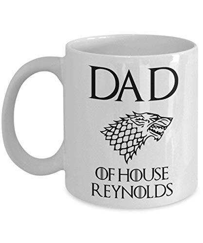 Game of Thrones Mug Grande tasse. Papa de la maison Stark a personnalisé personnalisé nom personnalisable tasse de café de cadeaux de fête des pères idée de cadeau tasse grande tasse. 11 15 Tasse à ca