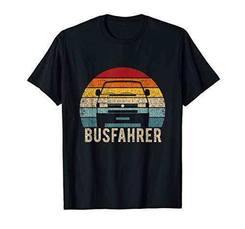Van Bus 4 Shirt Busfahrer Vintage Retro T-Shirt