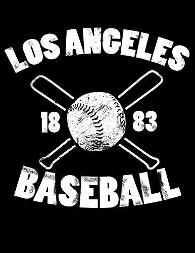 Los Angeles Baseball: Vintage and Distressed Los Angeles Baseball Notebook for Baseball Lovers