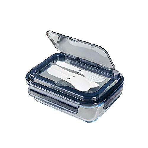 Verre conteneurs de stockage de nourriture micro-ondes congélateur et lave-vaisselle verrouillage de boîtes à lunch box avec vaisselle style 2